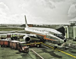 Retro American Airlines Jet