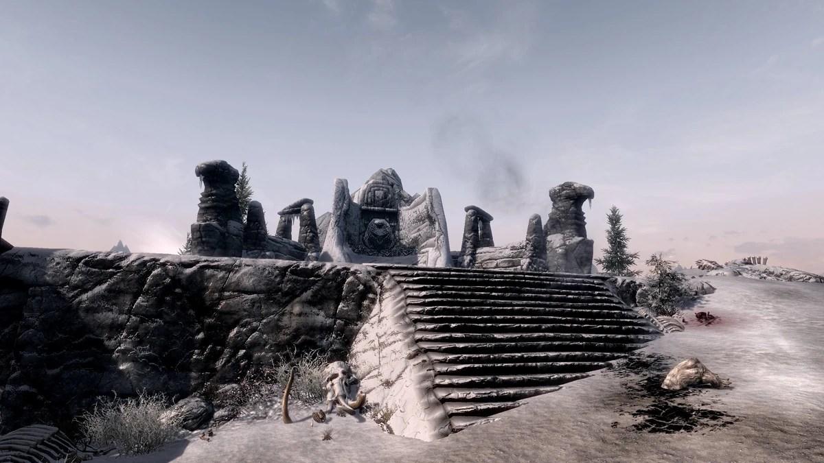 Eldersblood Peak Skyrim Wiki