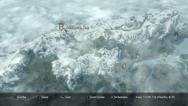 northwatch keep skyrim wiki