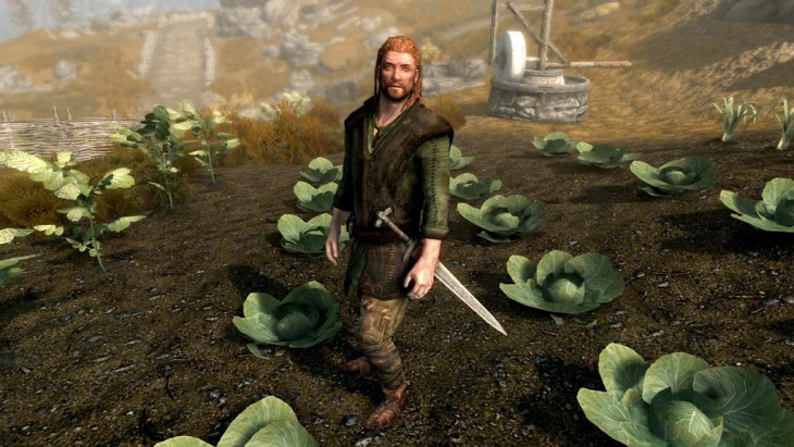Erik The Farmer in Rorikstead, Skyrim