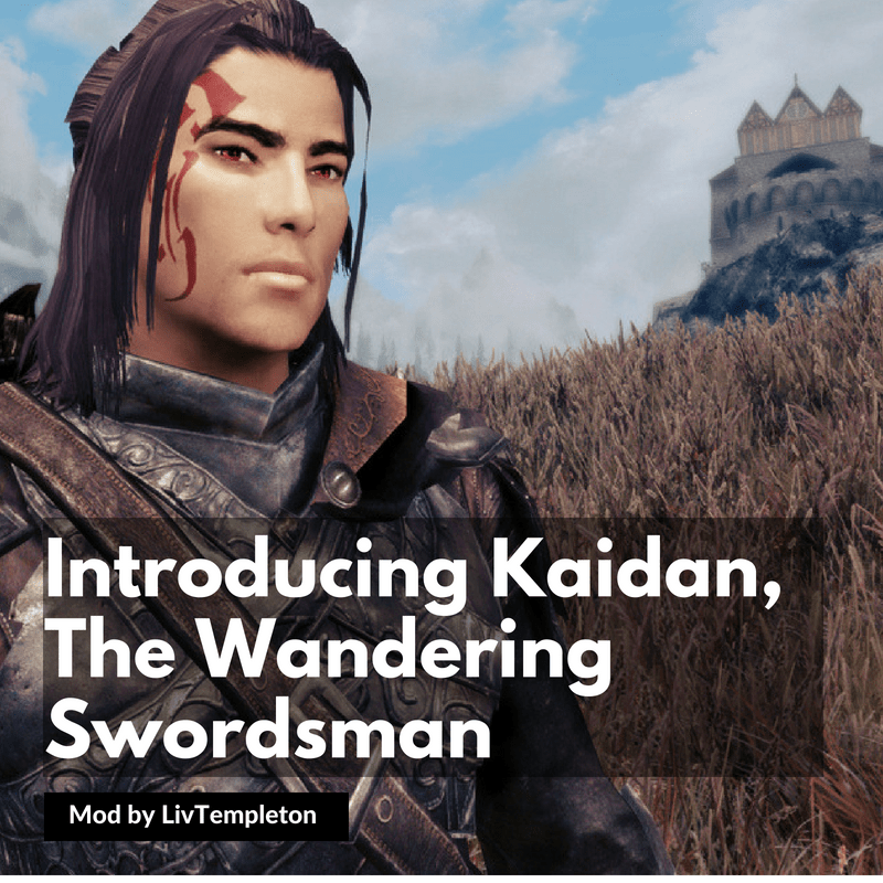 WAY OF THE BAE: Introducing Kaidan, The Wandering Swordsman – Skyrim