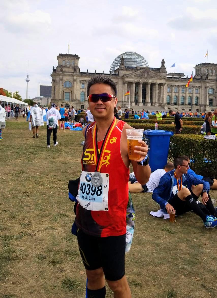 黃若輪於柏林馬拉松2018 PB了! – Sky-Runners Club