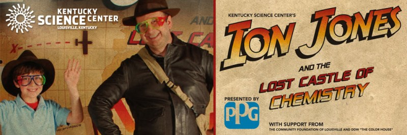 Kentucky Science Center program: Ion Jones and the Lost Castle of Chemistry