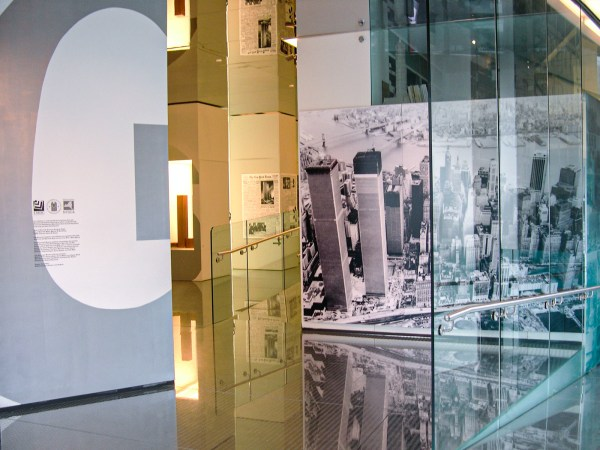 """Introduction gallery view of """"Giants: Twin Towers and the Twentieth Century"""""""