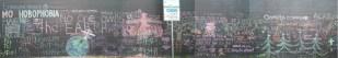 Chalk Mural in Olympia, WA near the public artesian well downtown.