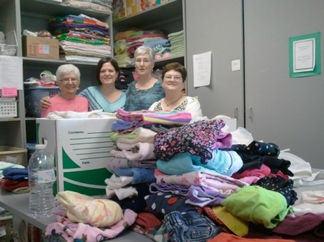Volunteers are always welcome at the ReachOut Womens Center!