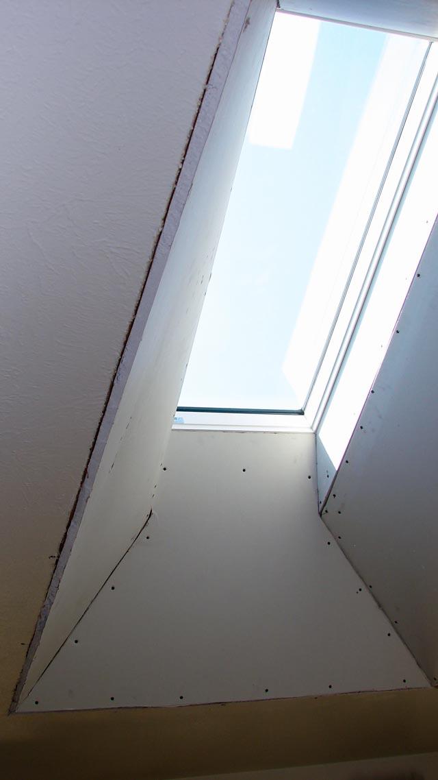 Skylight Shaft Single Four Way Flare Skylight