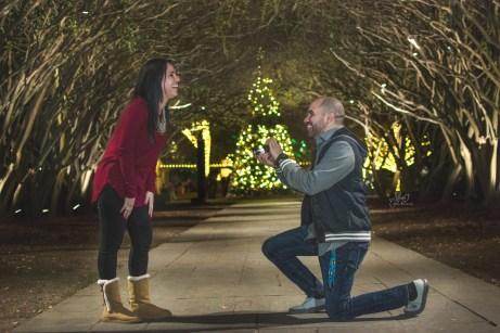 She said yes!