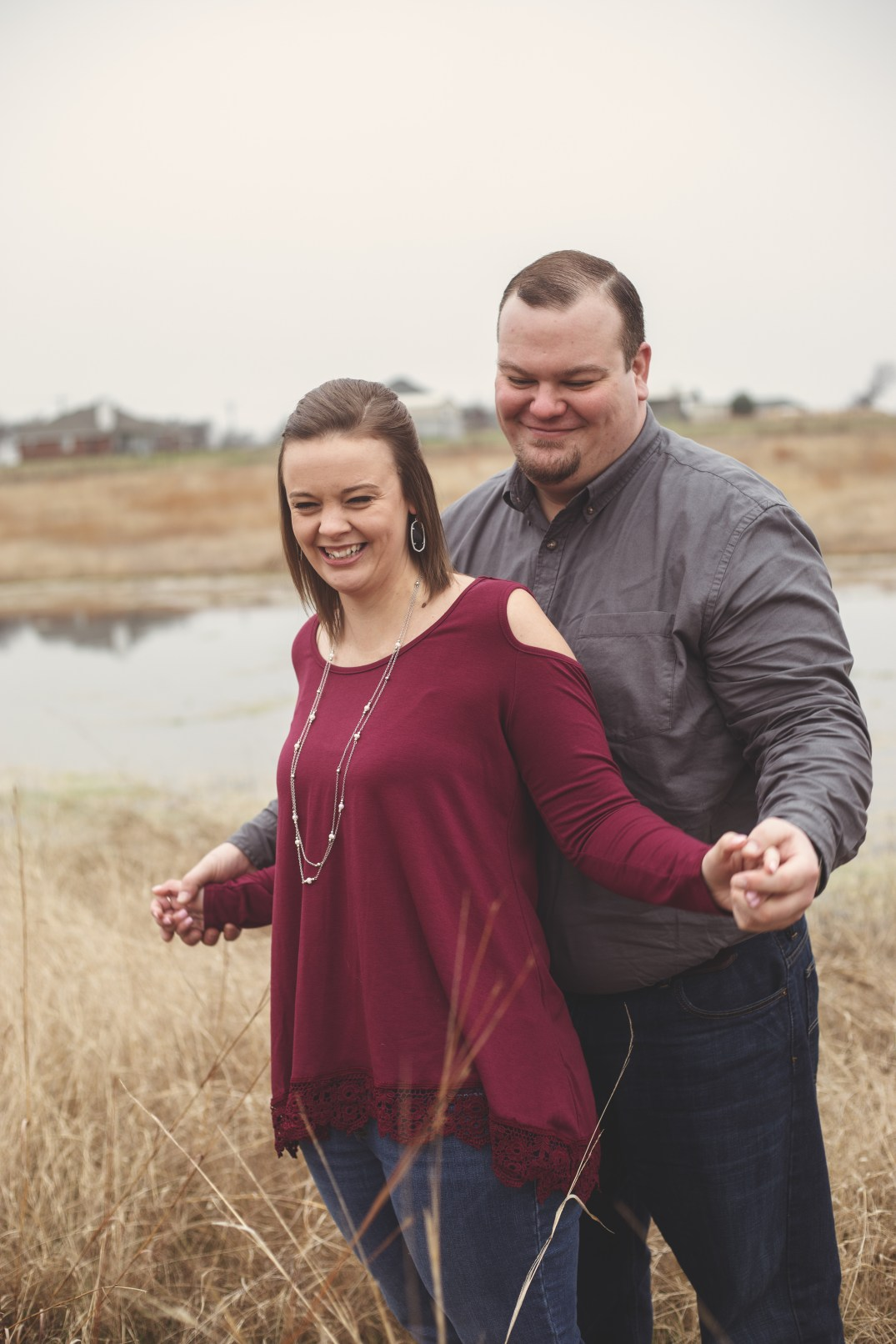 Engagement Session at Hawthorn Hills Ranch in Krum Texas