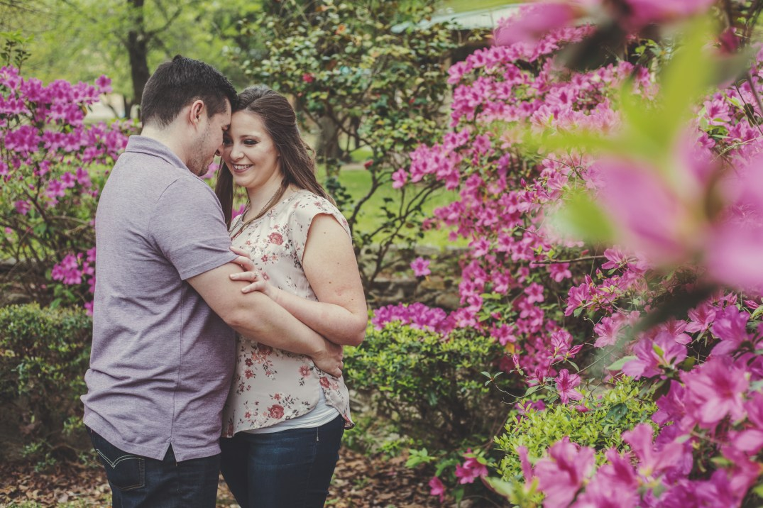 Engagement session at Sam Houston