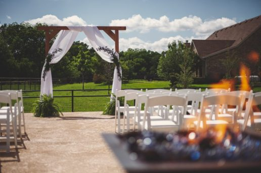 Backyard wedding in Flower Mound, Texas | Skys the Limit Production
