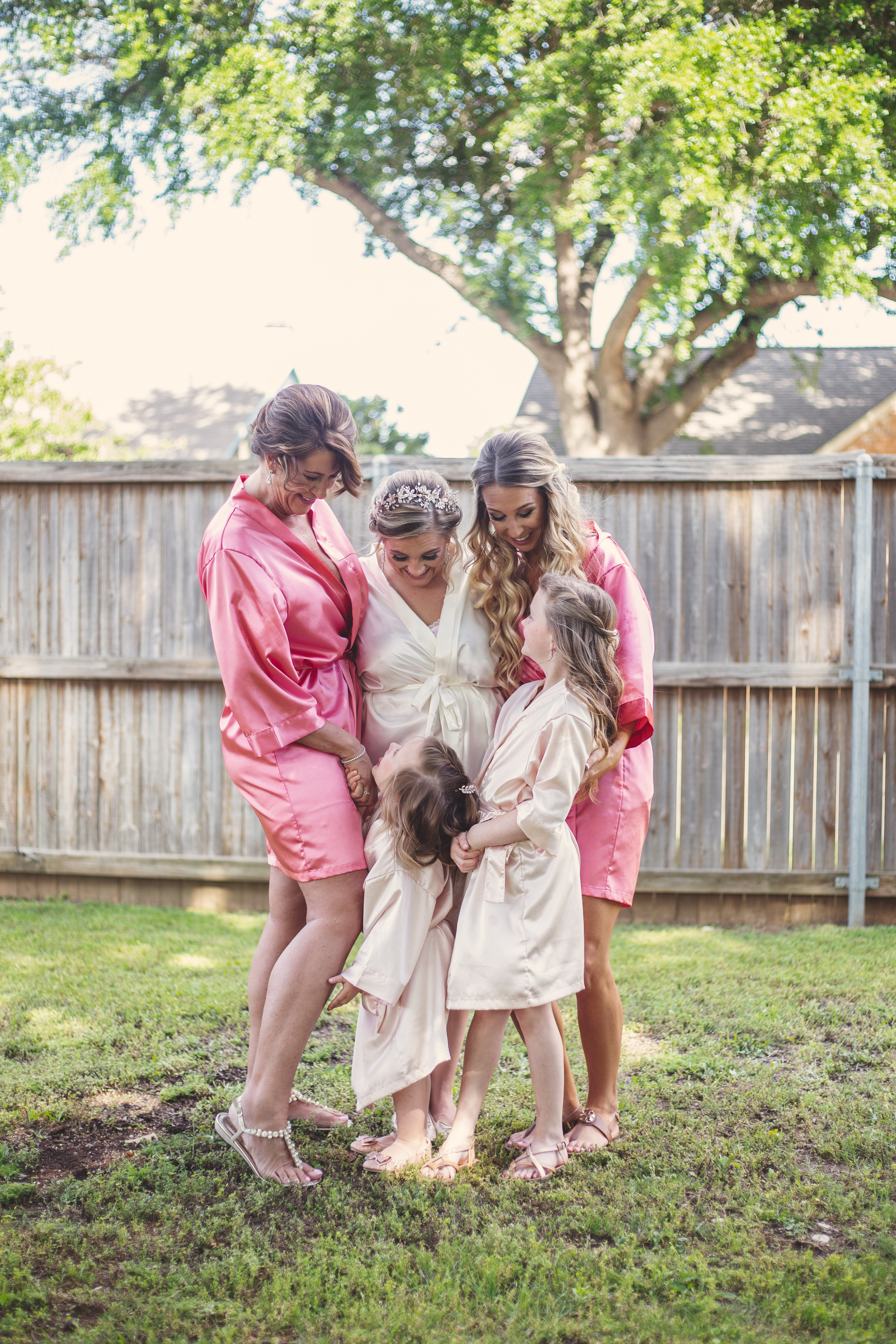 Bridesmaids photos in Lewisville Texas | Skys the Limit Production - Wedding Photographer