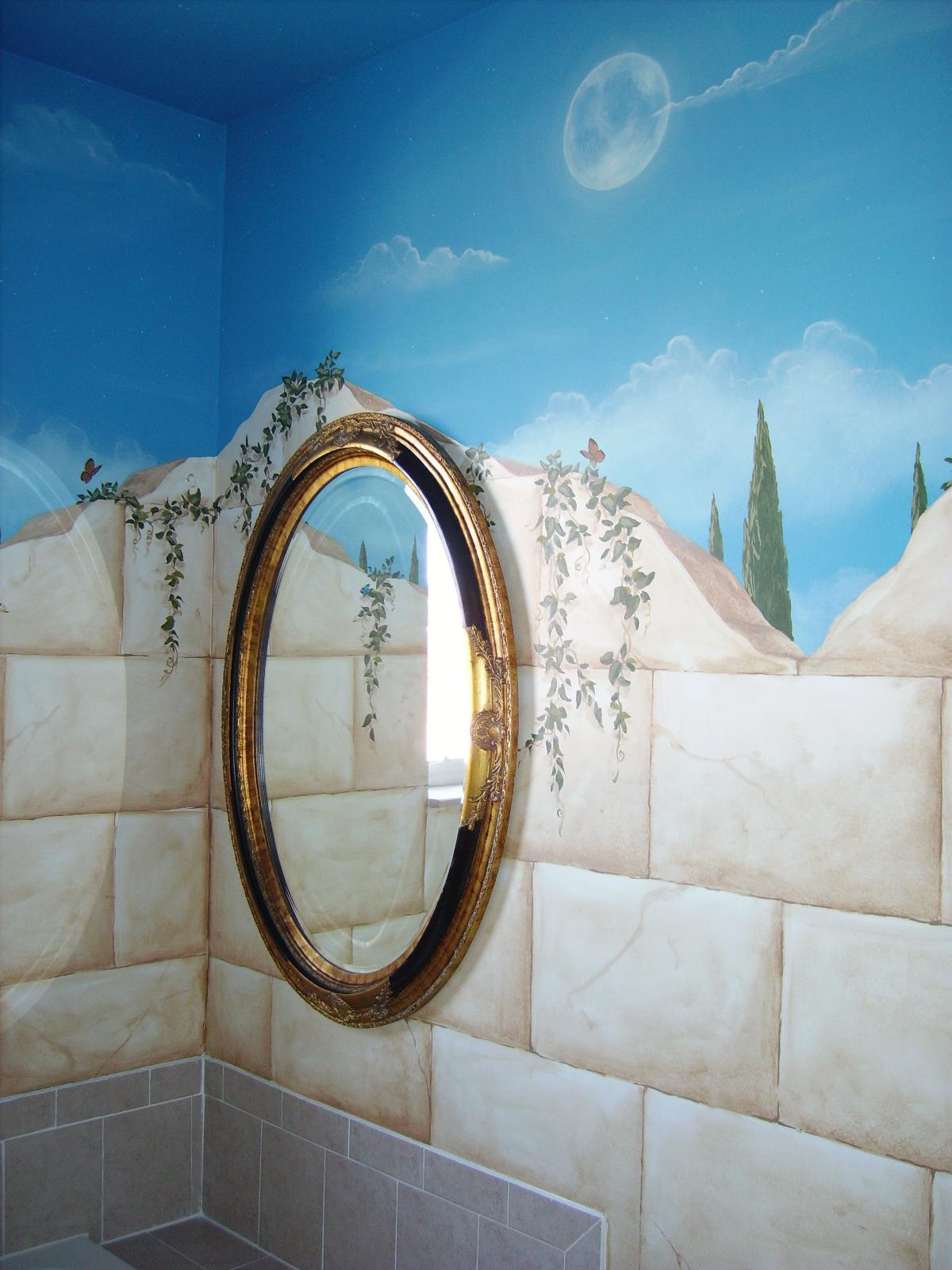 Trompe Loeil Murals  Art By Beata  San Diego Muralist