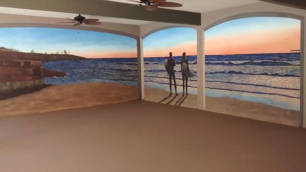 Trompe L Oeil Murals Art Beata San Diego Muralist