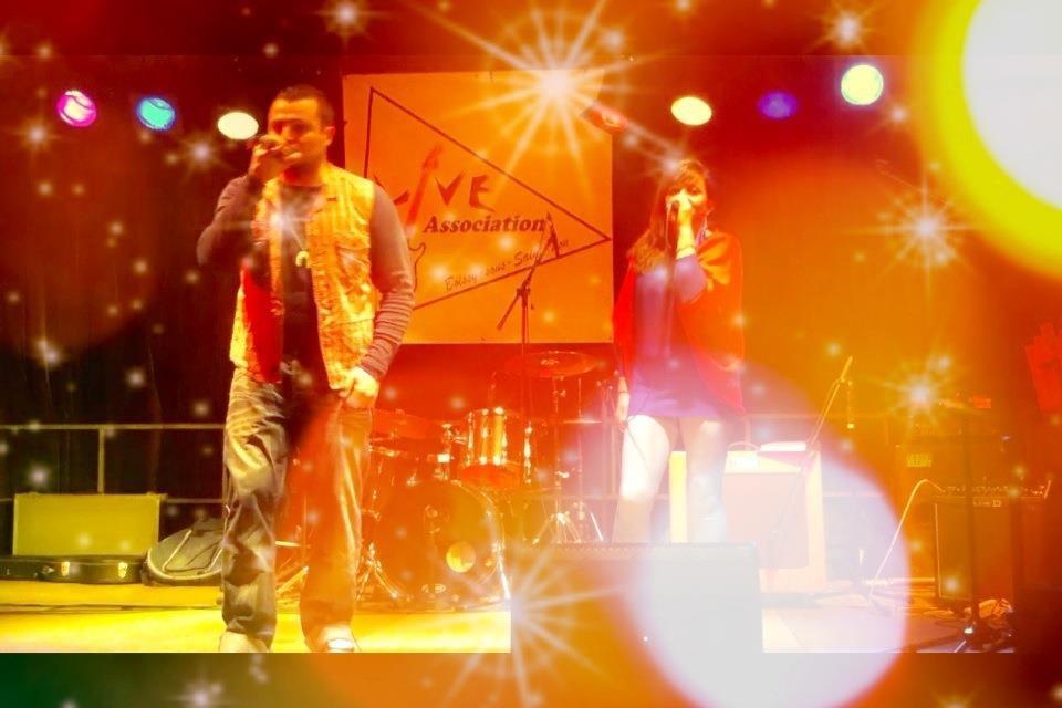 2013/03/25 Concert EL ANJO à Boissy sous Saint Yon (91) – Live Association – salle des fètes