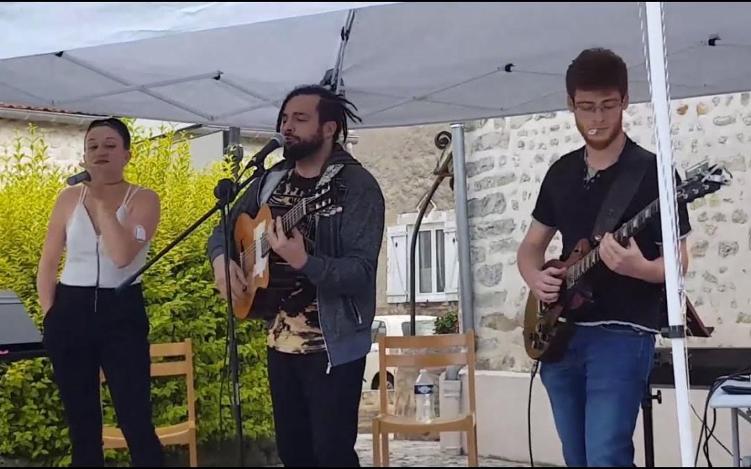 2018/06/23 (part 1) Concert EL ANJO & Princess, Rod, Tia à Orveau (dep 91) – place de la mairie