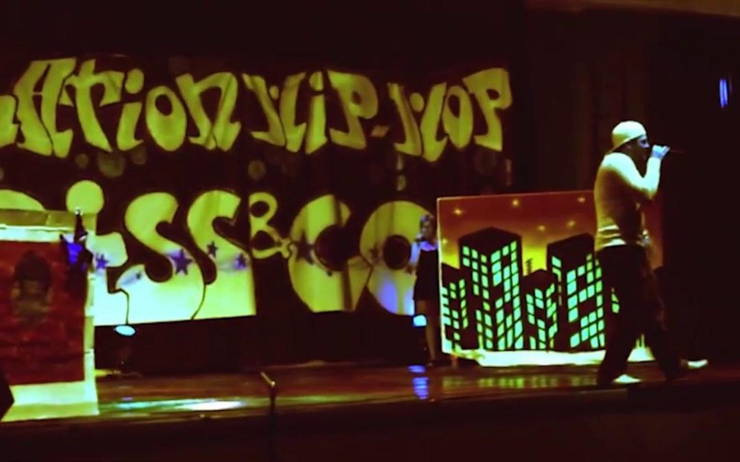 2011/06/04 Concert EL ANJO à Etampes (91) – Gala Hip hop avec DJ Merco – Salle des fêtes