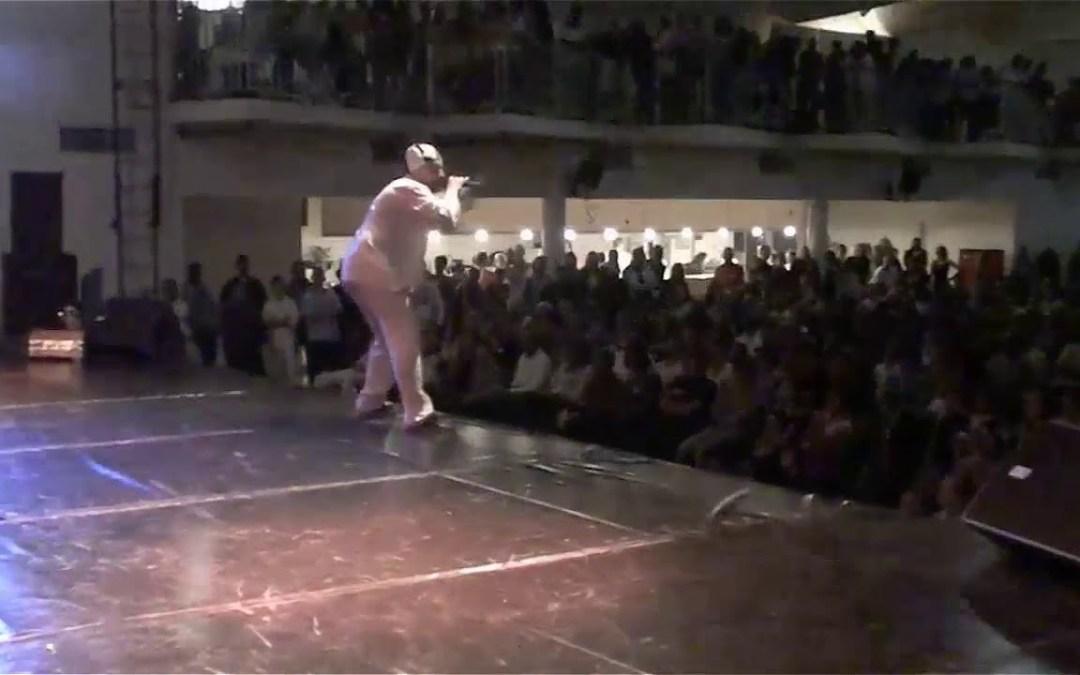 2009/06/06 Concert EL ANJO à Etampes (91) – Gala Hip Hop sound system – Salle des fêtes