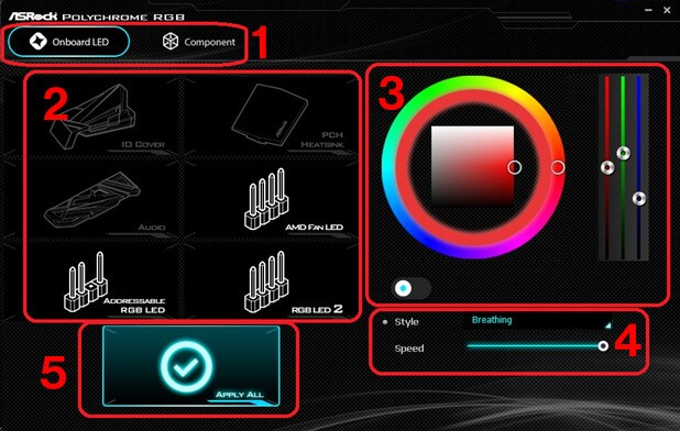 ASRock Polychrome RGB Software