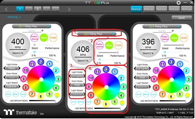 Thermaltake RGB Plus Software