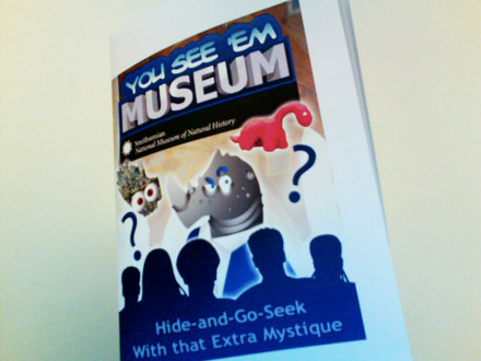New!  The You See 'Em Museum Guide