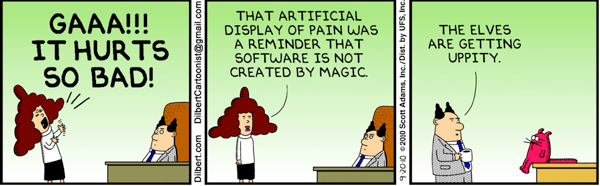 We Love Web Comics!: Dilbert