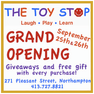 Free gifts!  Mime performances!  Cool toys!