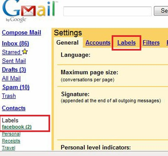 How to control gmail inbox from much notification email?