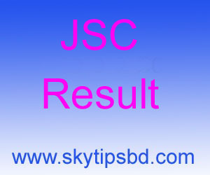 JSC result