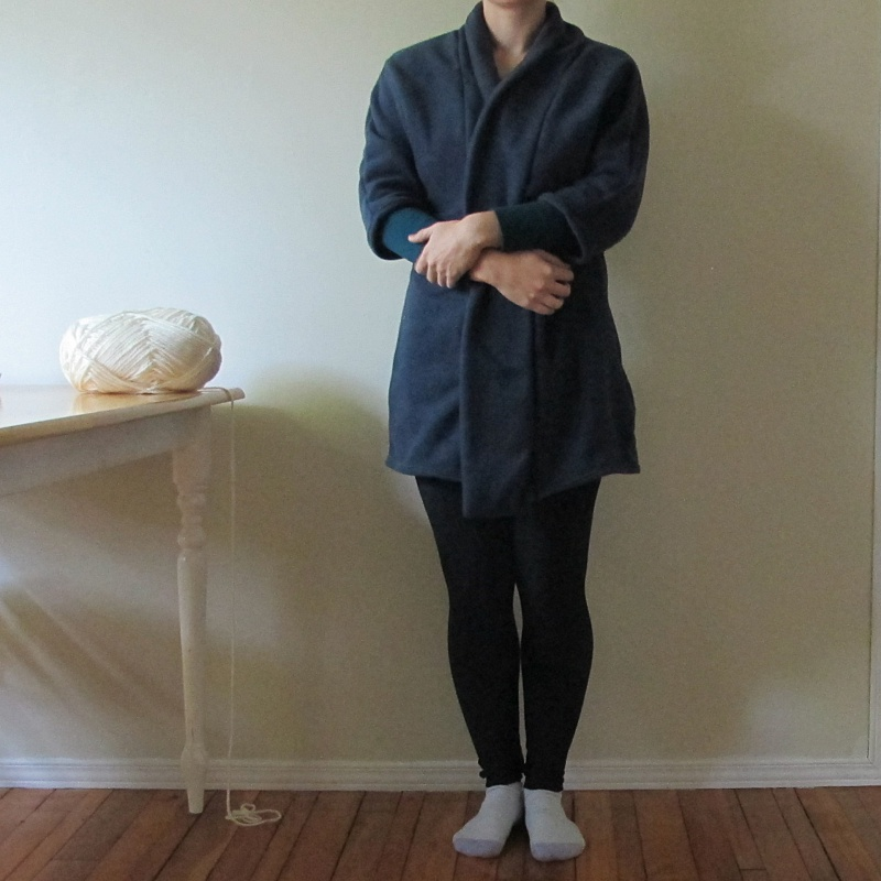 oslo cardigan house robe