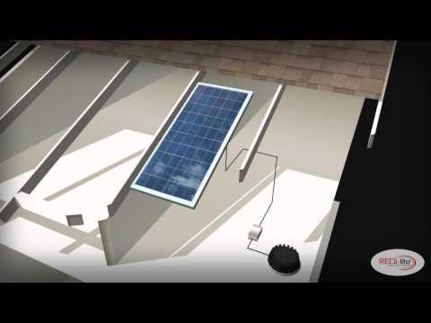 Redilight solar skylight
