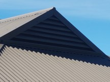 This is an example of a Triangular Gable Vent