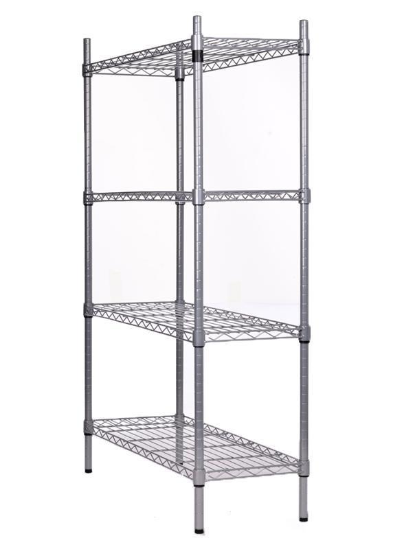 Heavy Duty Metal Steel Rack Garage Home Storage 4 Shelf