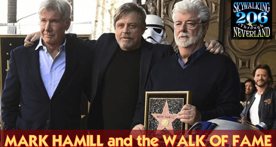 mark Hamill walk of fame
