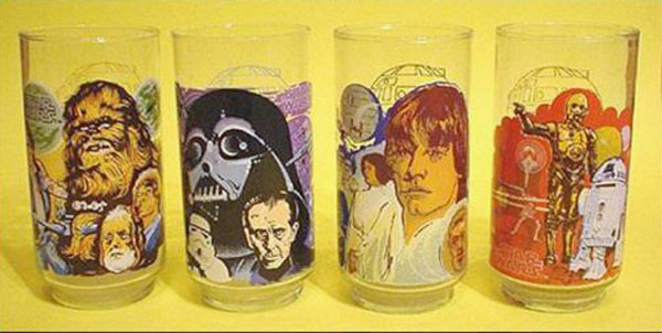 Burger King Burger Chef Star Wars Collector Glasses