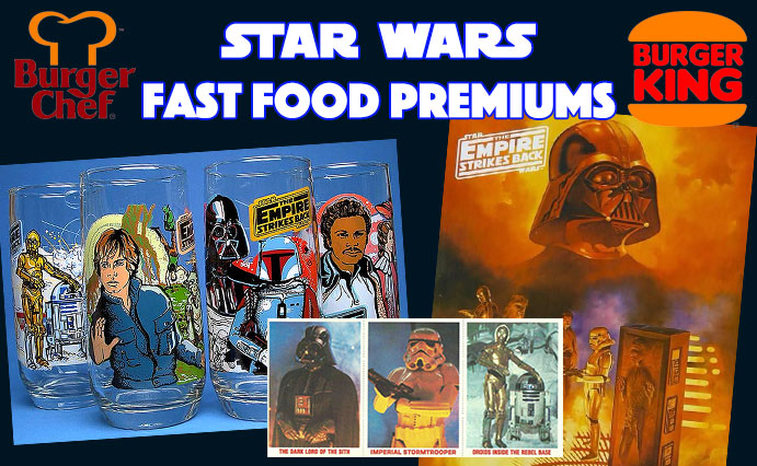Fast Food Premiums Star Wars 1980