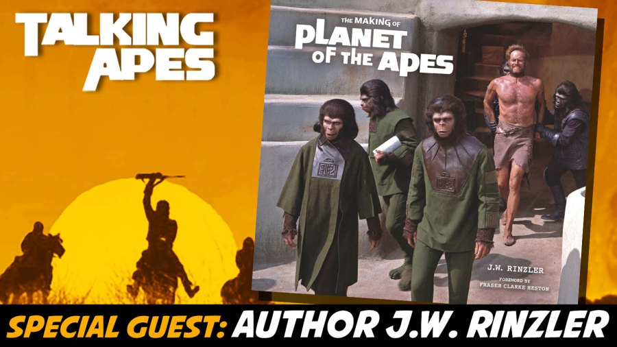 J.W. Rinzler author interview