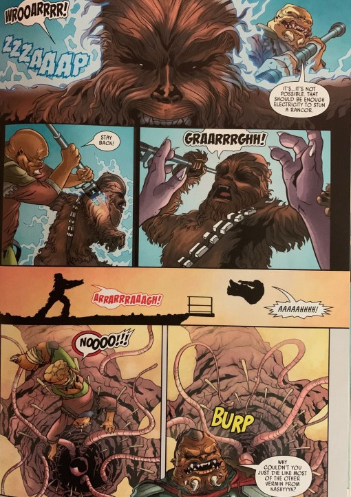 It's not wise to upset a wookiee.