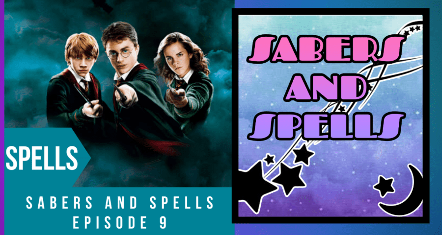 sabers and spells 9 title
