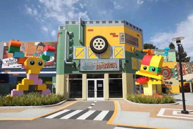 LEGO Movie World food