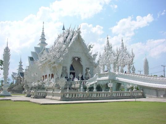 Thailandia_Chiang-rai Tempio Wat Rong Khun