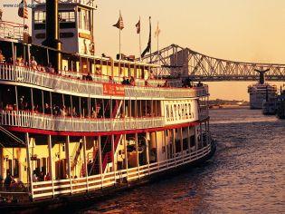 Steam Boat - Natchez - Mississipi