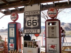 Route 66 - Hackberry General Store Gas Station