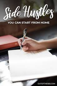 7 Side Hustles You Can Do From Home