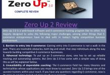 Zero Up 2.0 Review fred lam