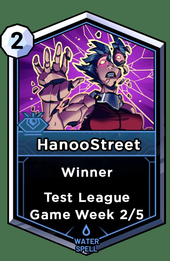 game week 2 winner