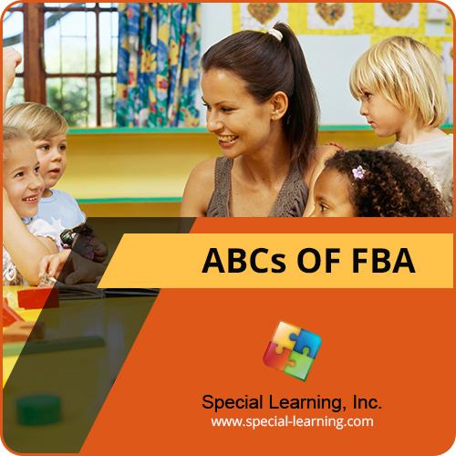 ABCs of Functional Behavior Assessment