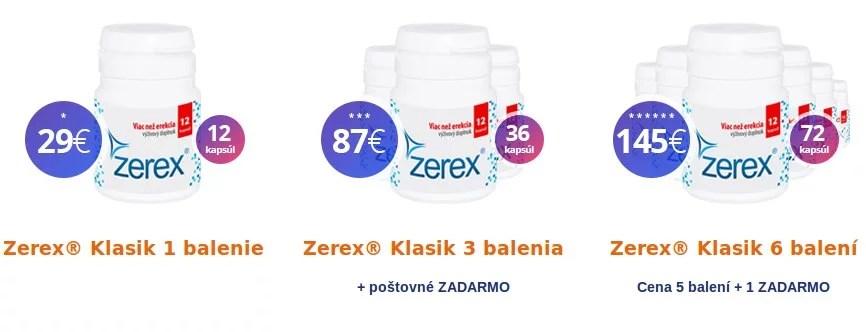 zerex klasik skúsenosti cena
