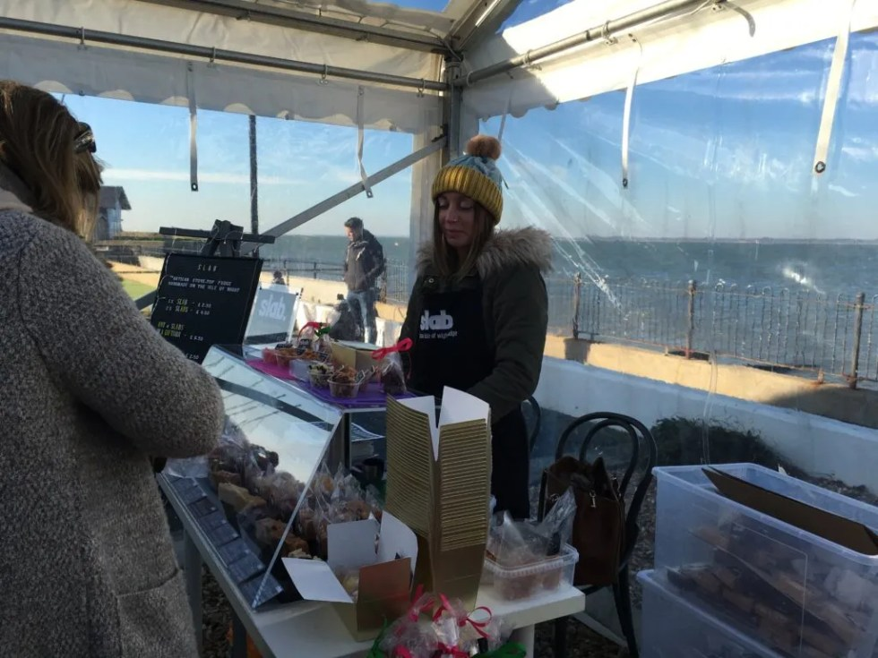 Slab Fudge at The Little Gloster Christmas Market 2016
