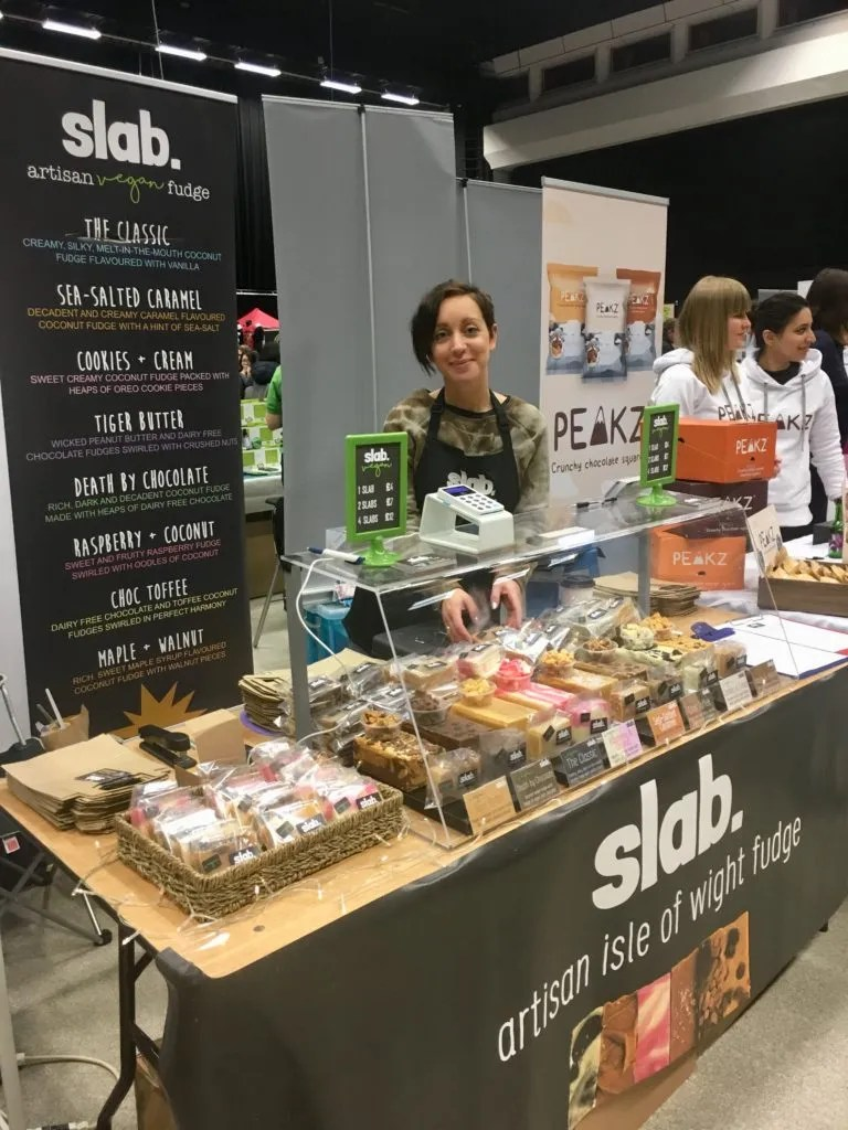 Slab Artisan Fudge @ Vegfest 1